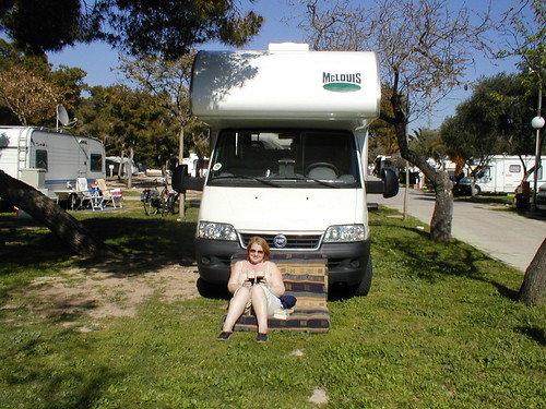 Camping Sitges, Spain 2003