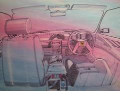 My Ferrari Pinin Dashboard 1982