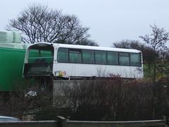 Wright Wreck (Andrew Stopford) Tags: travel bus interesting transport transportation transit wreck interest psv firstgroup