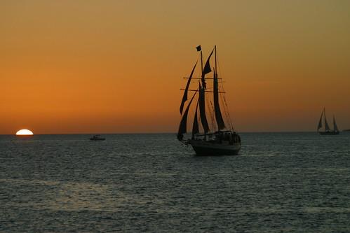 Sunset at Key West Christmas Eve 2007