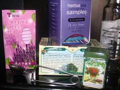 hot herbal drinks