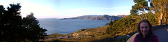 Presidio panorama with Jessica