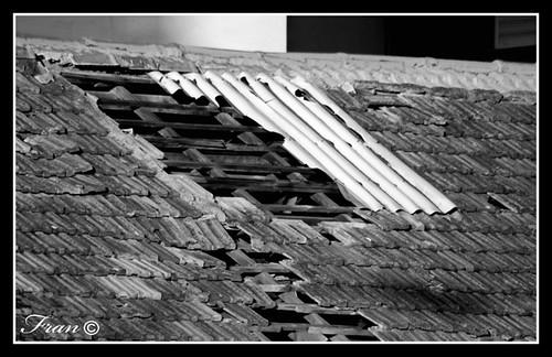 Goteras en el techo