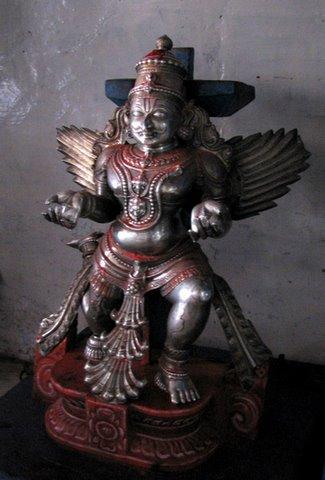 smaller garuda vAhanA b r temple