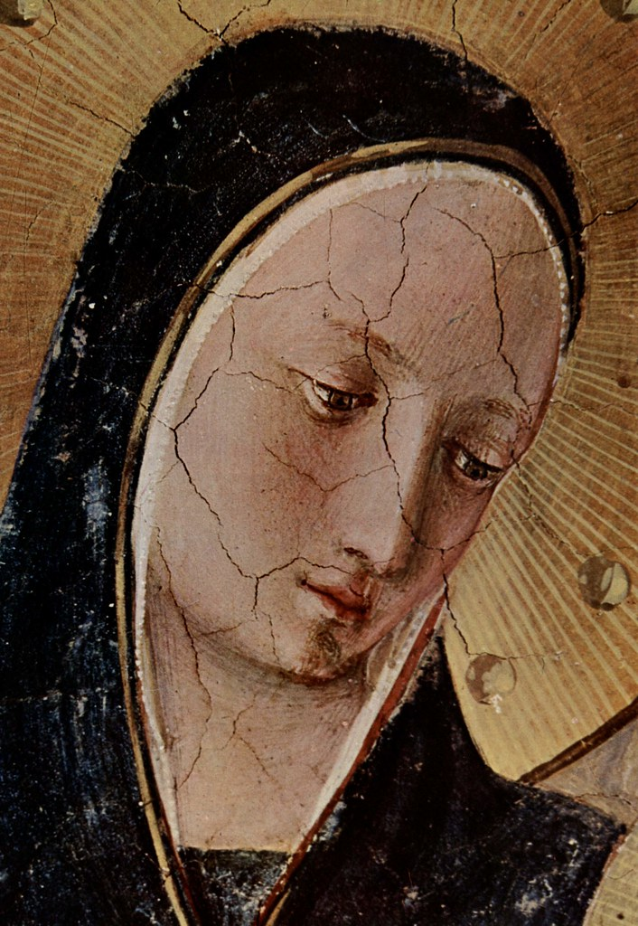 ANGELICO, Fra Madonna dell Ombre (detail)  c.1437-1446