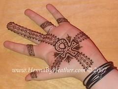 Ankh henna