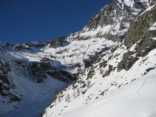 Nevaio dall'alto