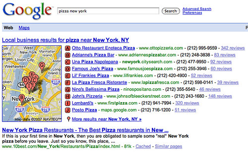 More & More Local Links in Google