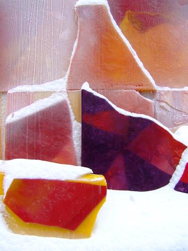 Modern Ice Detail Red