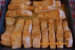 salmon a la crema de naranja