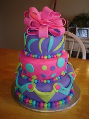 Topsy Turvy Cake by Sweet Creations