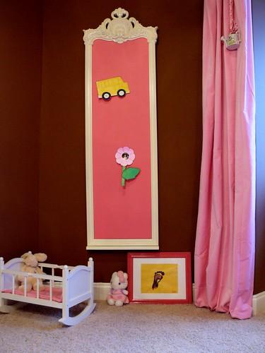 غرف باللون الوردي