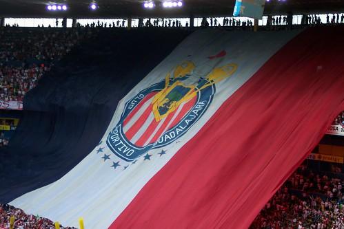 La Bandera de las Chivas Rayadas de Guadalajara