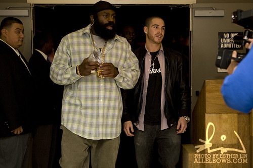 Jared Shaw and Kimbo Slice