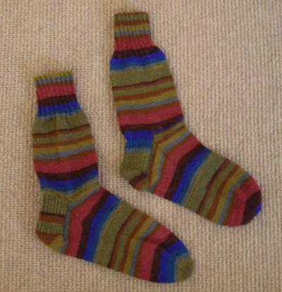 Kaffe Fassett socks