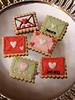 Valentine (nikkicookiebaker) Tags: cookies decorated