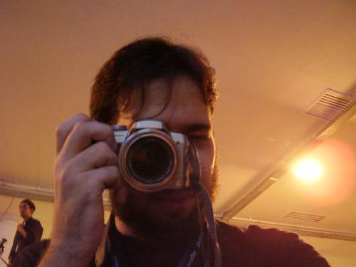 Eu tirando uma foto