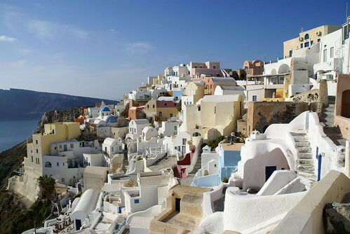 Breathtaking picturescape of Oia