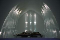 Ice hotel suite 4 (SusanneD) Tags: snow cold art ice hotel design bed sweden kiruna sculptures icehotel jukkasjrvi