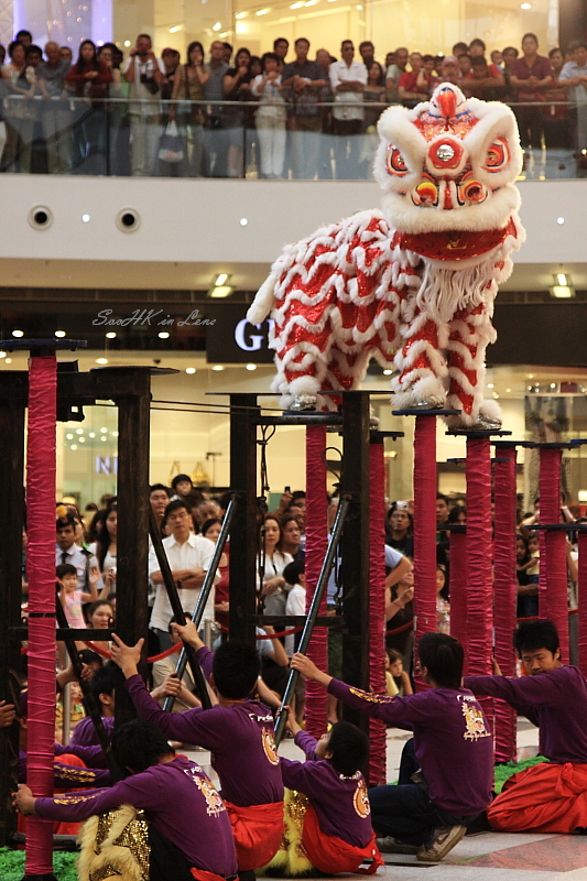 Patience, Lion Dance @ Pavilion KL