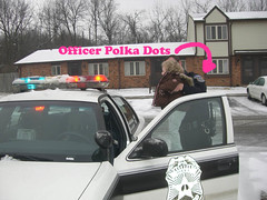 Officer Polka Dots
