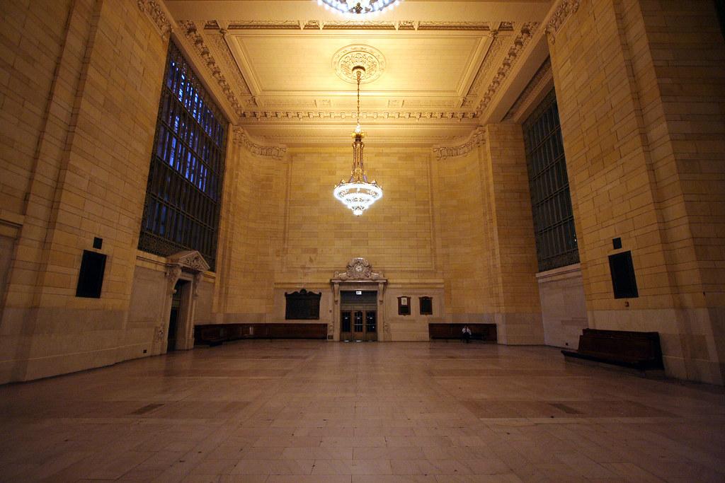 Alone in Grand Central