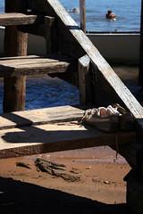 Pier - General Cmara / RS (Eline Prando) Tags: brasil natureza escada riograndedosul tnis fiatlux riojacu pir