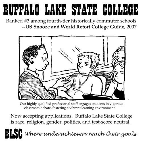 BuffaloLakeStateCollege by Susan
