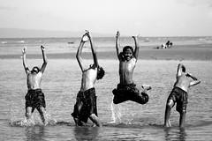 1-2-3- jump ! (*CQ*) Tags: sea summer vacation blackandwhite sun holiday beach monochrome kids fun jump play cq dumaguete splash 70300mmlens bwdreams bnpersone anawesomeshot impressedbeauty superbmasterpiece superbmasterpice overtheexcellence niosydetalles cqdigital