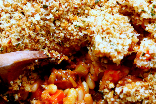 (mostly) vegetarian cassoulet