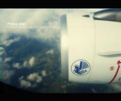 Middle    Of     Sky .. \\By.ME (D o 7 ε) Tags: cloud up plane fly earth