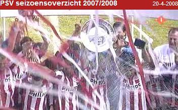 PSV seizoensoverzicht 2007 2008
