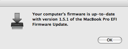 MacBook Pro EFI Firmware Update 1.5.1