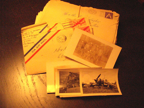 Letters from my grandfather to his parents