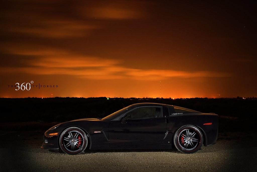 2008 Corvette Z06 - Black/Ebony