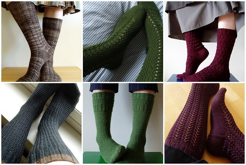 Knitting Vintage Socks -socks