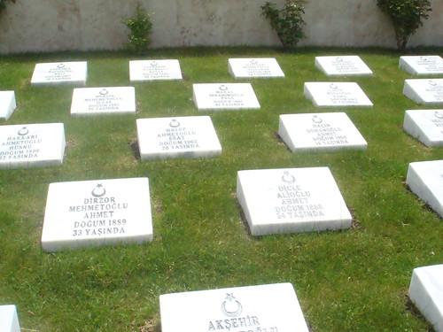 şehit mezarları