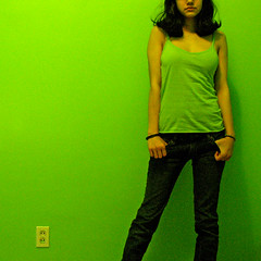 NOT AMAMAK (amamak photography!) Tags: red portrait selfportrait canada green art me self square bright montreal explore themoulinrouge 500x500 explore16 artlibre vision100 artzyviva