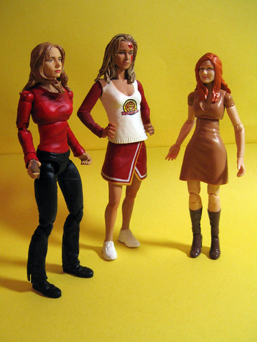 Buffy, Clair and Mary Jane