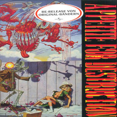 The LP cover features the controversial original artwork.