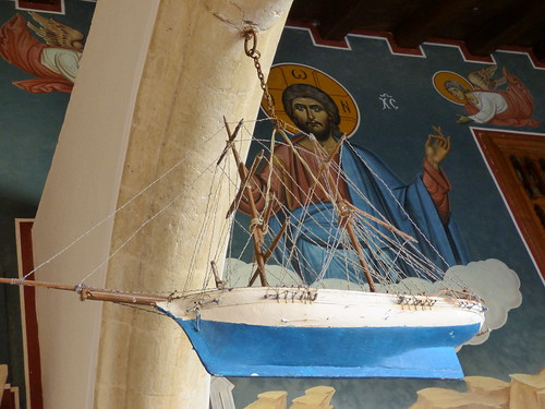 Kykkos Monastery, ship model