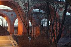 Zabytkowe wiadukty kolejowe (jacekbia) Tags: europa polska poland warmia olsztyn architektura architecture budowla building wiadukt kolej canon m42 35mm revuenon
