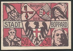 Boppard  50 Pfennig 0142_2a-2 (NoeCR) Tags: boppard alemania notgeld papelmoneda notafilia worldpapermoney emergencymoney dinerodeemergencia