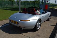 BMW Z8 (D's Carspotting) Tags: bmw z8 france coquelles calais grey 20100613 25bmw le mans 2010 lm10 lm2010