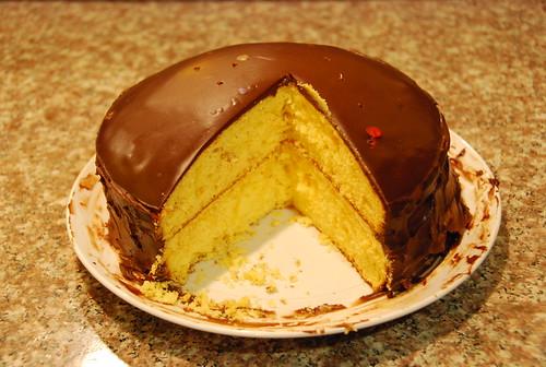 Birthday cake for Dan