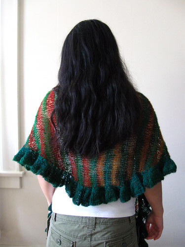 Country Garden Shawl