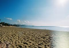 Nha Trang beach (Khnh Hmoong) Tags: sea film beach bay fuji nhatrang nikonfm
