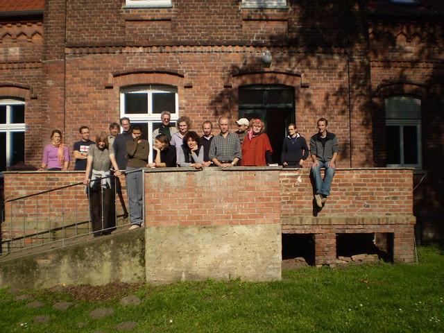 Participants on a weekend retreat in Strodehne an der Havel