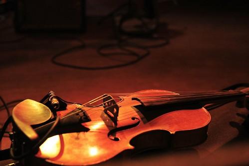 John Vanderslice show at Neumos, photo by Laura Musselman