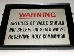 Beware of the Catholics